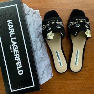 Karl Lagerfeld Cat Sandals